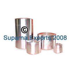 Aluminum Canisters With Push On Lids