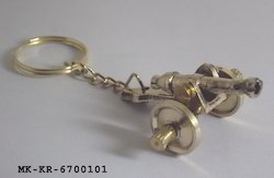 Brass Cannon Key Rings