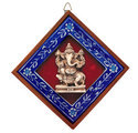 Jaipur Blue Pottery Wall Hanging