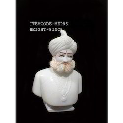 marble king statue