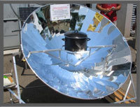 Solar Cookers/Ii) Dish Type Solar Cooker