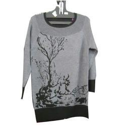 Grey Woolen Top