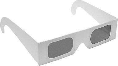 3d Polarize Paper Glasses