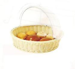 Bread Basket Polyrattan With Polycabonate Roll Top