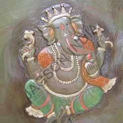 Ganesha Mural Painting