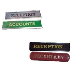 Name Plate Desk Plate Signages