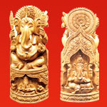 Sandalwood Decorative Ganesha Statues