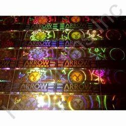 Copper Hologram Labels