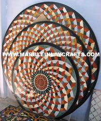Marble Medallions Flooring Design