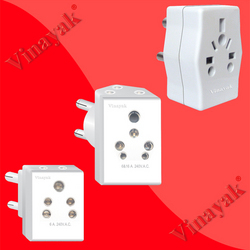 multi plug 3 pin plug top