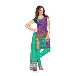 Unstitched Ladies Cotton Suit