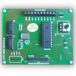 ADC-0809 Interfacing Module