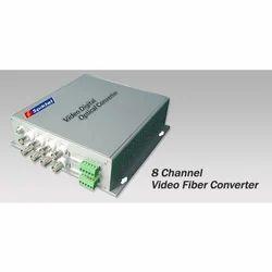 8 Channel Video Fiber Converter