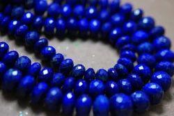 Lapis Lazuli Faceted Big Round Rondelles Briolettes