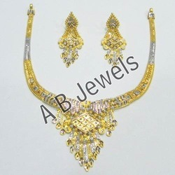 Gold Rhodium Necklace Jewellery