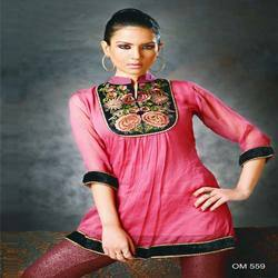 Neck Embroidery  Kurtis