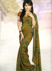 Indian Embroidered Sarees