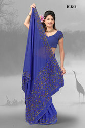 Casual Sarees For Girls