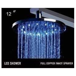 Led Overhead Showers