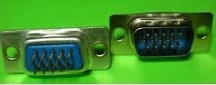 DB 15 Pin Male D Type Connector