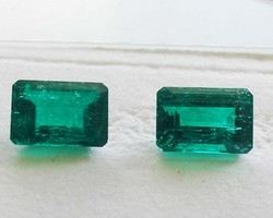 Emerald Cut Pair