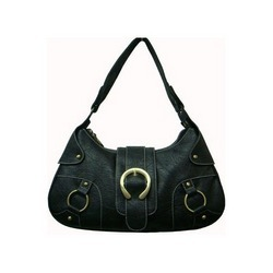 Black Stylish Leather Handbag