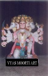Exquisite Lord Hanuman Ji In Seated Posture