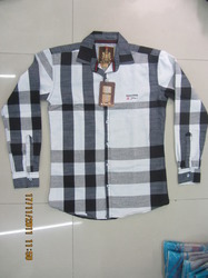 D.No.004 Jhe Panel Checks Fs Shirt