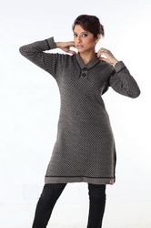 Ladies long sweater 08