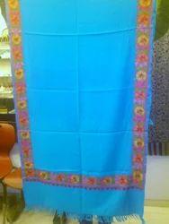 Kashmiri+Hand+Embroidered+Woolen+Stole