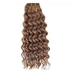 Deep Wave Machine Weft Hair