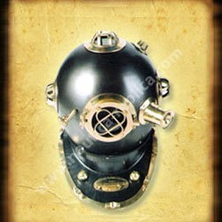 Diver Helmet Antique Finish (NR7045)