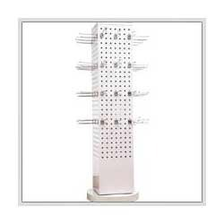 Rotational Pegboard Display Fixture