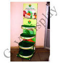 Floor Display Stand for Food Products