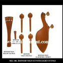 Rosewood Violin Parts, Boxwood Violin Parts, Musical Violin Parts, Ebony Violin Parts
