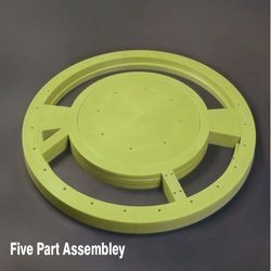 Wear Plate Five Part Assembly