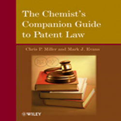 The Chemist's Companion Guide to Patent Law Book