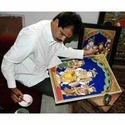 Gold Pasted Leaves For Decorative Paintings
