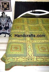 Applique Thread-work BedSpreads