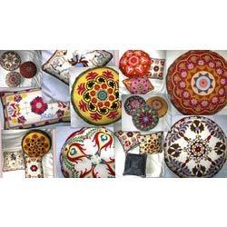 Suzani Floor Cushion And Pillows Covers