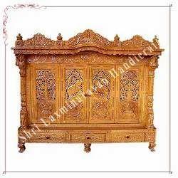 Teak Wood Customize Mandir