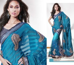 Ladies Embroidered Sarees