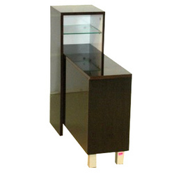Side Table with Glass Holder
