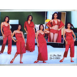 11 PCS. Set Bridal Nightwear