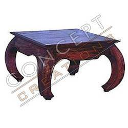 Wooden Opium Tables