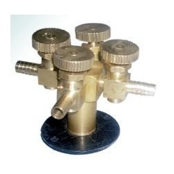 Four Way Needle Valve Table Mounting