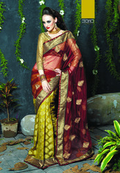 Heavy Net Sarees