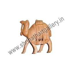 Wooden Camel Animal