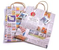 Eco Friendly Paper Bags From News Papers