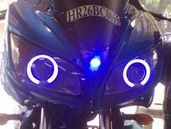 Projector+Lens+In+Yamaha+Fazer